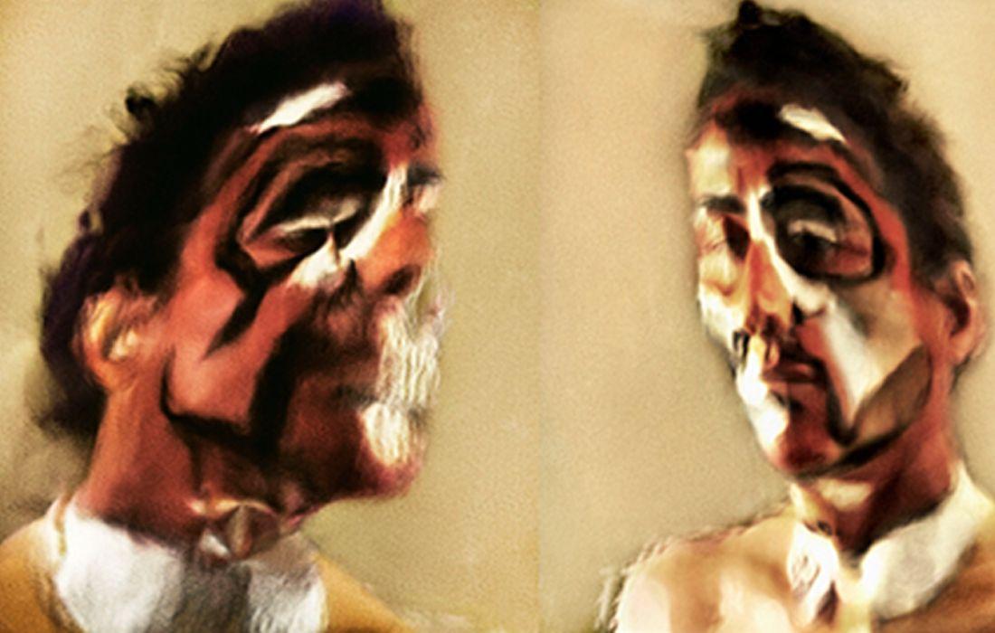 THE UNBEARABLE LIGHTNESS OF WITNESSING, STUDIES OF A SELF-PORTRAIT, 2012